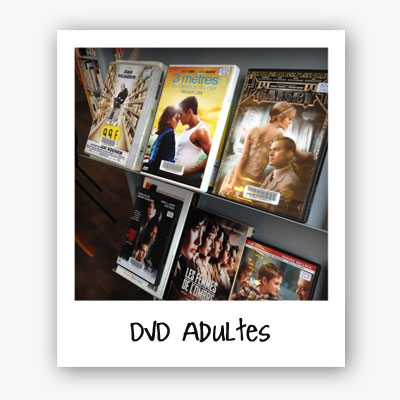 polaroid DVD adultes
